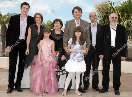 Romanian Director Cristi Piu (3-r) with Actors and Cast Members (l-r) Costi Dita Clara Voda Carmela Culda Luminita Gheorghiu Ileana Piu and Gelu Colceag During the Photocall of the Movie 'Aurora' During the 63rd Cannes Film Festival in Cannes France 14 May 2010 the Movie by Cristi Piu is Presented in the 'Un Certain Regard' Selection at the Cannes Film Festival 2010 Running From 12 to 23 May France Cannes
