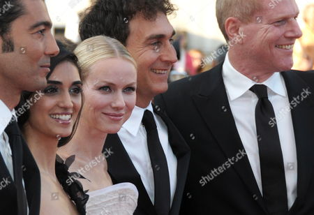 (l-r) Egyptian Actor Khaled Nabawy Israeli Actress Liraz Charhi British Actress Naomi Watts Us Director Doug Liman and Us Actor Noah Emmerich Arrive For the Screening of the Movie 'Fair Game' During the 63rd Cannes Film Festival in Cannes France 20 May 2010 the Movie by Doug Liman is Presented in Competition at the Cannes Film Festival 2010 Running From 12 to 23 May France Cannes