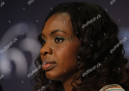 Actress and Cast Member Diaryatou Daff Attends the Press Conference of the Movie 'Biutiful' During the 63rd Cannes Film Festival in Cannes France 17 May 2010 the Movie by Alejandro Gonzalez Inarritu is Presented in Competition at the Cannes Film Festival 2010 Running From 12 to 23 May France Cannes