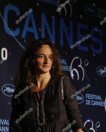 French Director Julie Bertuccelli Attends the Press Conference of the Movie 'The Tree' During the 63rd Cannes Film Festival in Cannes France 23 May 2010 the Movie by Julie Bertuccelli is Presented out of Competition at the Cannes Film Festival 2010 Running From 12 to 23 May France Cannes