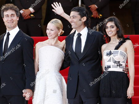 Stock Picture of (l-r) Us Director Doug Liman British Actress Naomi Watts Egyptian Actor Khaled Nabawy and Israeli Actress Liraz Charhi Arrive For the Screening of the Movie 'Fair Game' During the 63rd Cannes Film Festival in Cannes France 20 May 2010 the Movie by Doug Liman is Presented in Competition at the Cannes Film Festival 2010 Running From 12 to 23 May France Cannes