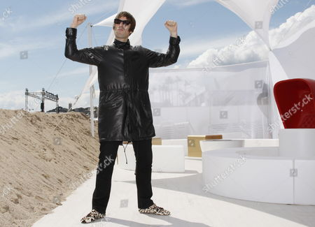 British Singer Liam Gallagher Poses During the Photocall of the Movie 'The Longest Cocktail Party' During the 63rd Cannes Film Festival in Cannes France 14 May 2010 the Film Produced by Andrew Eaton is Adapted From the Book by Richard Dilello the Cannes Film Festival 2010 Runs From 12 to 23 May France Cannes