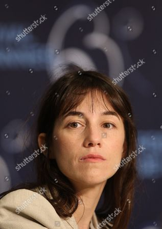 French Actress Charlotte Gainsbourg Attends the Press Conference of the Movie 'The Tree' During the 63rd Cannes Film Festival in Cannes France 23 May 2010 the Movie by French Director Julie Bertuccelli is Presented out of Competition at the Cannes Film Festival 2010 Running From 12 to 23 May France Cannes