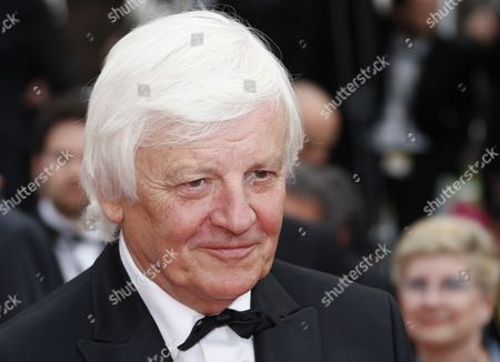 French Director Jacques Perrin Arrives For the Screening of the Movie 'La Princesse De Montpensier' (the Princess of Montpensier) During the 63rd Cannes Film Festival in Cannes France 16 May 2010 the Movie by Bertrand Tavernier is Presented in Competition at the Cannes Film Festival 2010 Running From 12 to 23 May France Cannes