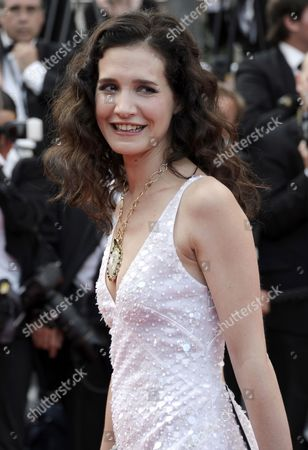 French Actress Chloe Lambert Arrives For the Screening of 'Habemus Papam' During the 64th Cannes Film Festival in Cannes France 12 May 2011 the Movie by Italian Director Nanni Moretti is Presented in the Official Competition of the Film Festival Running From 11 to 22 May France Cannes