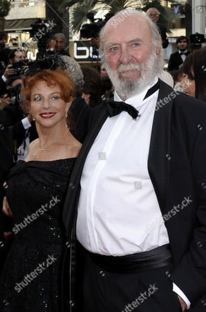 French Actor Jean-pierre Marielle (r) and Wife Agathe Nathanson (l) Arrive to a Tribute Ceremony to French Actor Jean-paul Belmondo During the 64th Cannes Film Festival in Cannes France 17 May 2011 the Film Festival Running From 11 to 22 May is Paying Tribute to Jean-paul Belmondo For His Career France Cannes