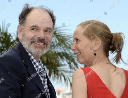 French Actor Jean-pierre Darroussin (l) and Finnish Actress Kati Outinen (r) Pose During the Photocall For 'Le Havre' at the 64th Cannes Film Festival in Cannes France 17 May 2011 the Movie by Finnish Director Aki Kaurismaki is Presented in the Official Competition of the Film Festival Running From 11 to 22 May France Cannes