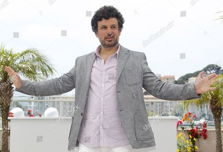 Romanian Director Catalin Mitulescu Poses During the Photocall For 'Loverboy' at the 64th Cannes Film Festival in Cannes France 18 May 2011 His Movie is Presented in the 'Un Certain Regard' Section of the Film Festival Running From 11 to 22 May France Cannes