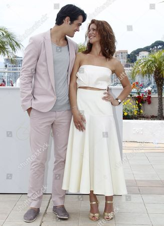 Romanian Actor George Pistereanu (l) and Romanian Actress Ada Condeescu (r) Pose During the Photocall For 'Loverboy' at the 64th Cannes Film Festival in Cannes France 18 May 2011 the Movie by Romanian Director Catalin Mitulescu is Presented in the 'Un Certain Regard' Section of the Film Festival Running From 11 to 22 May France Cannes