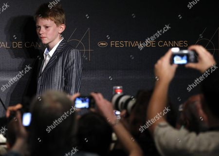 Belgian Actor Thomas Doret Attends the Press Conference For 'Le Gamin Au Velo' (the Kid with the Bike) During the 64th Cannes Film Festival in Cannes France 15 May 2011 the Movie by Jean-pierre and Luc Dardenne is Presented in the Official Competition of the Film Festival Running From 11 to 22 May France Cannes