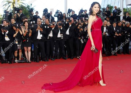 Miss China World 2007 Zhang Zilin Arrives For the Screening of 'The Tree of Life' During the 64th Cannes Film Festival in Cannes France 16 May 2011 the Movie by Us Director Terrence Malick is Presented in the Official Competition of the Film Festival Running From 11 to 22 May France Cannes