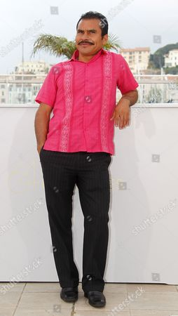 Mexican Actor Noe Hernandez Poses During the Photocall For 'Miss Bala' at the 64th Cannes Film Festival in Cannes France 13 May 2011 the Movie by Mexican Director Gerardo Najanjo is Presented in the 'Un Certain Regard' Section of the Film Festival Running From 11 to 22 May France Cannes