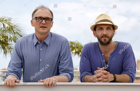 Austrian Director Markus Schleinzer (l) and Austrian Actor Michael Fuith (r) Pose During the Photocall For 'Michael' at the 64th Cannes Film Festival in Cannes France 15 May 2011 the Movie by Markus Schleinzer is Presented in the Official Competition of the Film Festival Running From 11 to 22 May France Cannes