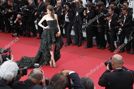 Swiss Model Julia Saner Arrives For the Screening of 'La Conquete' (the Conquest) During the 64th Cannes Film Festival in Cannes France 18 May 2011 the Movie by French Director Xavier Durringer is Presented out of Competition at the Film Festival Running From 11 to 22 May France Cannes