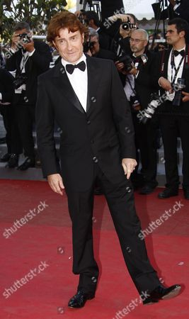 French Actor Thierry Fremont Arrives For the Screening of 'The Artist' During the 64th Cannes Film Festival in Cannes France 15 May 2011 the Movie by French Director Michel Hazanavicius is Presented in the Official Competition of the Film Festival Running From 11 to 22 May France Cannes
