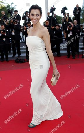 French Actress Aure Atika Leaves the Screening of 'Pater' During the 64th Cannes Film Festival in Cannes France 17 May 2011 the Movie by French Director Alain Cavalier is Presented in the Official Competition of the Film Festival Running From 11 to 22 May France Cannes
