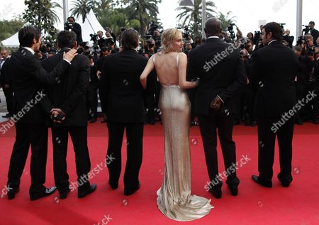 German Actress Diane Kruger (3-r) Arrives For the Screening of 'Sleeping Beauty' During the 64th Cannes Film Festival in Cannes France 12 May 2011 the Movie by Australian Director Julia Leigh is Presented in the Official Competition of the Film Festival Running From 11 to 22 May France Cannes