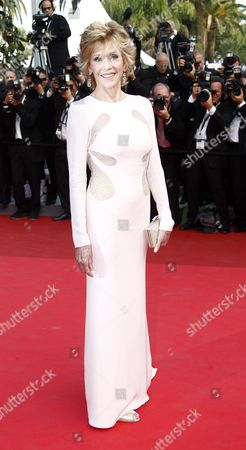 Us Actress Jane Fonda Arrives For the Screening of 'Sleeping Beauty' During the 64th Cannes Film Festival in Cannes France 12 May 2011 the Movie by Australian Director Julia Leigh is Presented in the Official Competition of the Film Festival Running From 11 to 22 May France Cannes