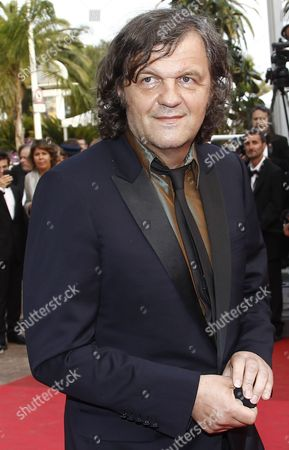 Serbian Director Emir Kusturica Arrives For the Screening of 'Sleeping Beauty' During the 64th Cannes Film Festival in Cannes France 12 May 2011 the Movie by Australian Director Julia Leigh is Presented in the Official Competition of the Film Festival Running From 11 to 22 May France Cannes