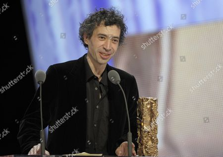 French Actor Eric Elmosnino Receives the Best Actor Award For His Role in 'Gainsbourg (vie Heroique)' During the 36th Cesar Awards Ceremony Held at the Chatelet Theatre in Paris France 25 February 2011 the 'Academie Des Arts Et Techniques Du Cinema' of France Honours Excellence in 21 Categories France Paris