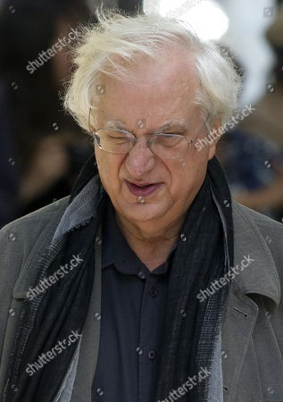 French Director Bertrand Tavernier Arrives For a Ceremony to Pay Tribute to French Film Maker Claude Chabrol in Paris France 17 September 2010 Chabrol who Died at the Age of 80 on 17 September 2010 is One of France's Most Eminent Film Directors and Known For Founding the New Wave Movement in French Cinema of the 1950s France Paris