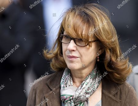 French Actress Nathalie Baye Arrives For a Ceremony to Pay Tribute to French Film Maker Claude Chabrol in Paris France 17 September 2010 Chabrol who Died at the Age of 80 on 17 September 2010 is One of France's Most Eminent Film Directors and Known For Founding the New Wave Movement in French Cinema of the 1950s France Paris