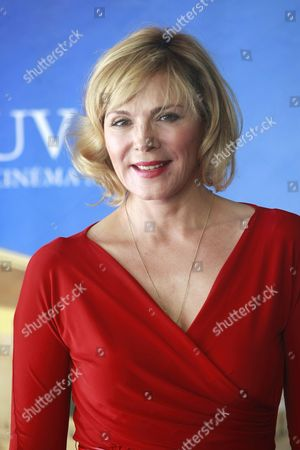 British Actress Kim Cattrall Poses During a Photocall For the Movie 'Meet Monica Velour' at the 36th Annual Deauville American Film Festival in Deauville France 11 September 2010 the Movie by Us Director Keith Bearden is Presented in the Premieres Section at the Festival Running From 03 to 12 September France Deauville
