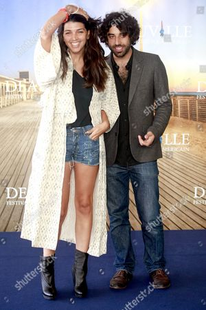 British Director Zeina Durra (l) and French Actor Karim Saleh (r) Pose During a Photocall For the Movie 'The Imperialists Are Still Alive!' at the 36th Annual Deauville American Film Festival in Deauville France 09 September 2010 the Movie by Zeina Durra is Presented in the Premieres Section at the Festival Running From 03 to 12 September France Deauville