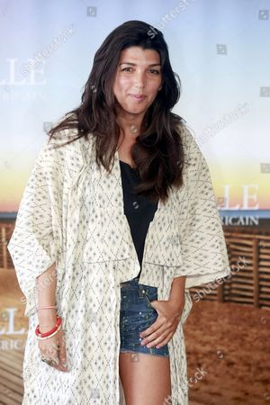 British Director Zeina Durra Poses During a Photocall For Her Movie 'The Imperialists Are Still Alive!' at the 36th Annual Deauville American Film Festival in Deauville France 09 September 2010 the Movie is Presented in the Premieres Section at the Festival Running From 03 to 12 September France Deauville