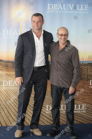 Us Actor Liev Schreiber (l) and Director Richard Levine (r) Pose During the Photocall For the Movie 'Every Day' at the 36th Annual Deauville American Film Festival in Deauville France 06 September 2010 the Movie by Richard Levine is Presented in the Premieres Section at the Festival Running From 03 to 12 September France Deauville