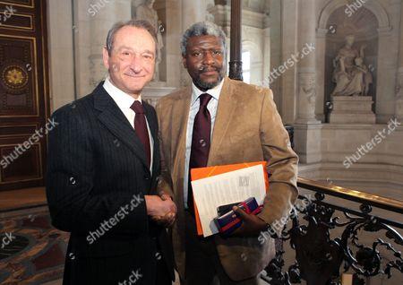 Editorial photo of France Paris Haiti Mayors - Feb 2010