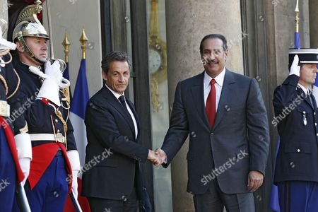 Editorial picture of France Sarkozy Meets with Qatari Prime Minister - May 2011