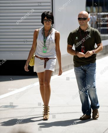 The Wife of Spanish Formula One Driver Fernando Alonso Singer Raquel Del Rosario Seen in the Paddock at the Hungaroring Race Track in Mogyorod Near Budapest Hungary 29 July 2010 the Hungary Formula One Grand Prix Will Take Place in Mogyorod on 01 August 2010 Hungary Mogyorod