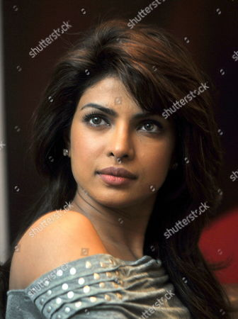 Bollywood Actress Priyanka Chopra Looks on During a Promotional Event For Her New Movie 'Kaminey' Directed by Vishal Bhardwaj in the Southern Indian City of Bangalore 12 August 2009 India Bangalore