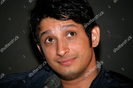 Bollywood Actor Sharman Joshi Attends a Press Conference to Promote His New Movie 'Three Idiots' in Calcutta India 31 December 2009 the Film Directed by Rajkumar Hirani Has Been Released on 25 December 2009 in India India Calcutta