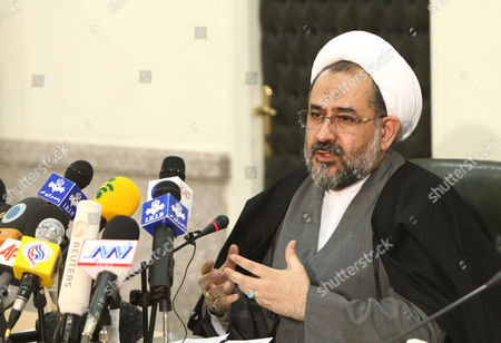 Editorial picture of Iran Spy Moslehi - Jan 2011