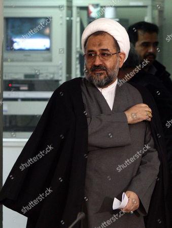Editorial image of Iran Spy Moslehi - Jan 2011