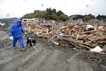 Editorial photo of Japan Earthquake Tsunami Nuclear Accident Aftermath - Mar 2011