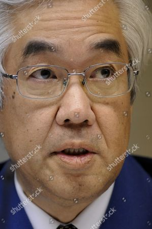 Tokyo Electric Power Co Vice-president Sakae Muto Attends a News Conference at the Company Headquarters in Tokyo Japan 30 March 2011 Tepco Chairman Tsunehisa Katsumata Said That the Decommissioning of the Reactors Nos 1-4 at the Fukushima Daiichi Nuclear Power Plant is Inevitable and It Will Be More Than a Few Weeks to Fix the Fukushima Daiichi Nuclear Power Plant Japan Tokyo