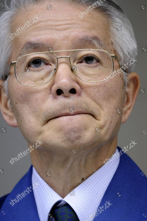 Tokyo Electric Power Co Chairman Tsunehisa Katsumata Attends a News Conference at the Company Headquarters in Tokyo Japan 30 March 2011 Katsumata Said It Will More Than a Few Weeks to Fix the Fukushima Daiichi Nuclear Power Plant Earlier in the Day Tepco Announced That Its President Masataka Shimizu was Hospitalized on 29 March For Hypertension Katsumata is Taking Over Shimizu's Position to Lead Efforts to Control the Crisis Japan Tokyo