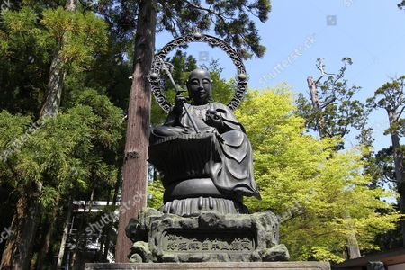 View of a Statue of Buddha in the Zuiganji Temple Compound in Matsushima Miyagi Prefecture Japan on 16 May 2011 Matsushima is Known As One of the Three Famous Beauty Spots of Japan Zuiganji Temple was Visited by Cardinal Robert Sarah on His Trip to Japan on Behalf of Pope Benedict Xvi That was Meant to Visit with Earthquake-affected Areas and to Meet and to Encourage the Victims Japan Matsushima