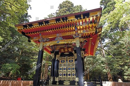 View of a Shrine in the Zuiganji Temple Compound in Matsushima Miyagi Prefecture Japan on 16 May 2011 Matsushima is Known As One of the Three Famous Beauty Spots of Japan Zuiganji Temple was Visited by Cardinal Robert Sarah on His Trip to Japan on Behalf of Pope Benedict Xvi That was Meant to Visit with Earthquake-affected Areas and to Meet and to Encourage the Victims Japan Matsushima