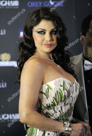 Lebanese Singer Haifa Wehbe Arrives to Attend the 11th Murex D'or Awards Ceremony Held at the Casino Du Liban in Murex D'or Awards Ceremony Northern Beirut Lebanon 23 June 2011 the Murex D'or Event is an Annual Award Ceremony Honoring the Best Singers and Actors of Lebanese and Arab Artists in Various Fields Lebanon Adma