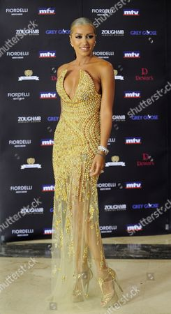 Lebanese Singer Maya Diab Arrives to Attend the 11th Murex D'or Awards Ceremony Held at the Casino Du Liban in Murex D'or Awards Ceremony Northern Beirut Lebanon 23 June 2011 the Murex D'or Event is an Annual Award Ceremony Honoring the Best Singers and Actors of Lebanese and Arab Artists in Various Fields Lebanon Adma