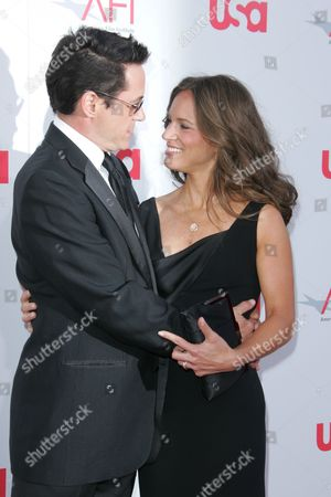 Robert Downey Jr. and wife Susan Levin