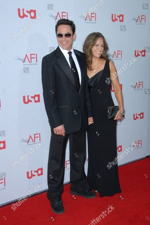 Robert Downey Jnr and wife Susan Levin