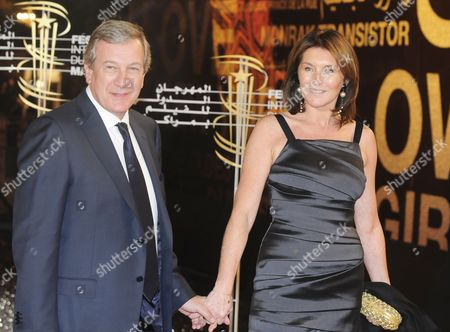 Cecilia Ciganer-albeniz the Former Wife of French President Nicolas Sarkozy Arrives with Her Husband French Businessman Richard Attias (l) at the 9th Marrakech International Film Festival in Marrakech Morocco 05 December 2009 Morocco Marrakech