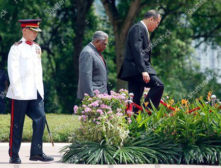 Editorial photo of Singapore Aquino - Mar 2011