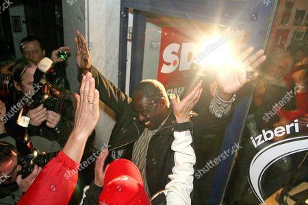Editorial image of Slovenia Elections Black Mayor - Oct 2010
