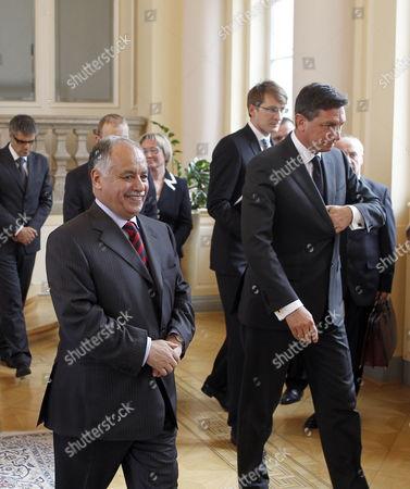 Editorial photo of Slovenia Libya Prime Minister Mahmudi Visits - May 2009